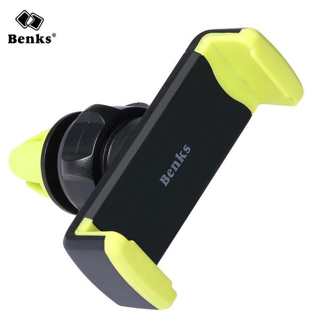 5 Шт. Benks Автомобильный Телефон Держатель Air Vent Мобильный Телефон 360 поворот Стенд Клип Кронштейн для iPhone 7 Samsung S7 Xiaomi Мобильных Телефонов