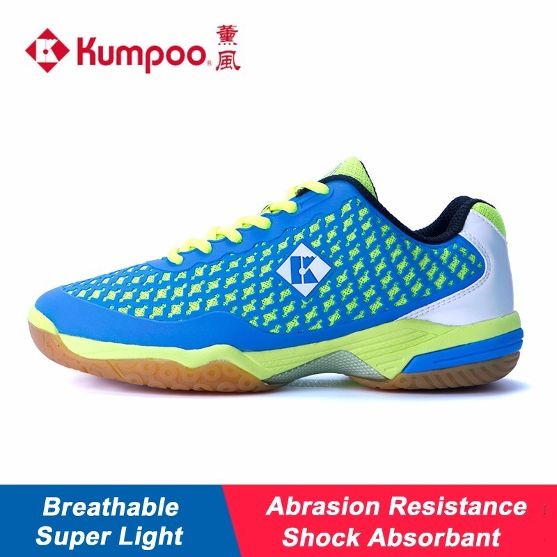 Super Light Kumpoo Badminton Shoes for Men and Women Breathable Cushioning Antiskid Athletic Sports Sneakers KH-280 L793OLB professional kumpoo unisex shoes badminton light cushioning comfortable sports sneakers for men and women breathable kh 205 l799