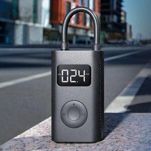 Image 4 - Xiaomi mijia tesouro inflável portátil inteligente digital de detecção pressão dos pneus inflator bomba elétrica para moto carro da motocicleta