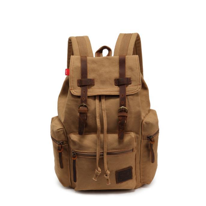 купить Casual Women Backpack Female Backpacks High Quality Canvas Rucksack Women School Bag Women's Travel Backpack Laptop mochila New онлайн
