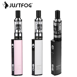 Starter Kit Original Justfog Q16 Kit with 1.9ml Justfog Q16 Clearomizer & J-Easy 9 Battery 900mAh & 8 Level Variable Voltage Kit