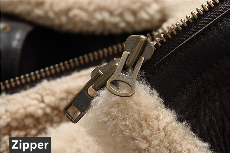 HTB1RCVYalKw3KVjSZTEq6AuRpXa3 men genuine leather jacket man real original ecological sheepskin coat raccoon fur detachable hood winter jackets short design