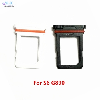 10pcs/lot Sim Card Holder Slot Micro SD Card Tray for Samsung Galaxy S6 Active G890 G890A