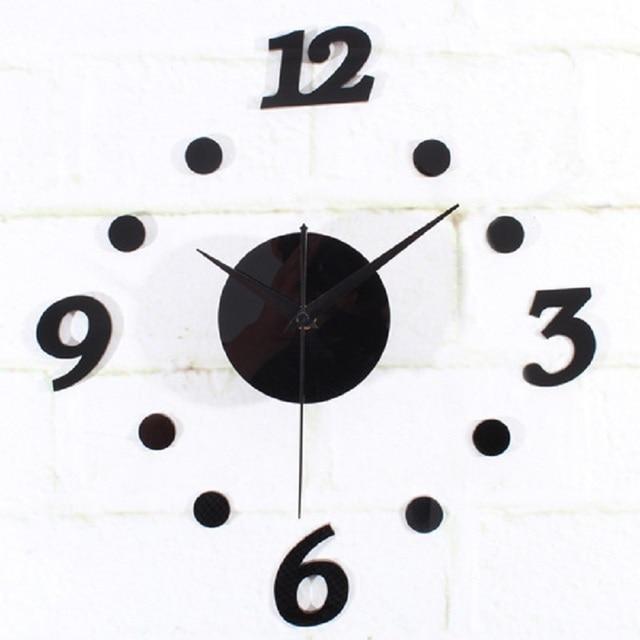 Aliexpress.com : Buy DIY Clock Saat Wall Clock Reloj Duvar Saati ...