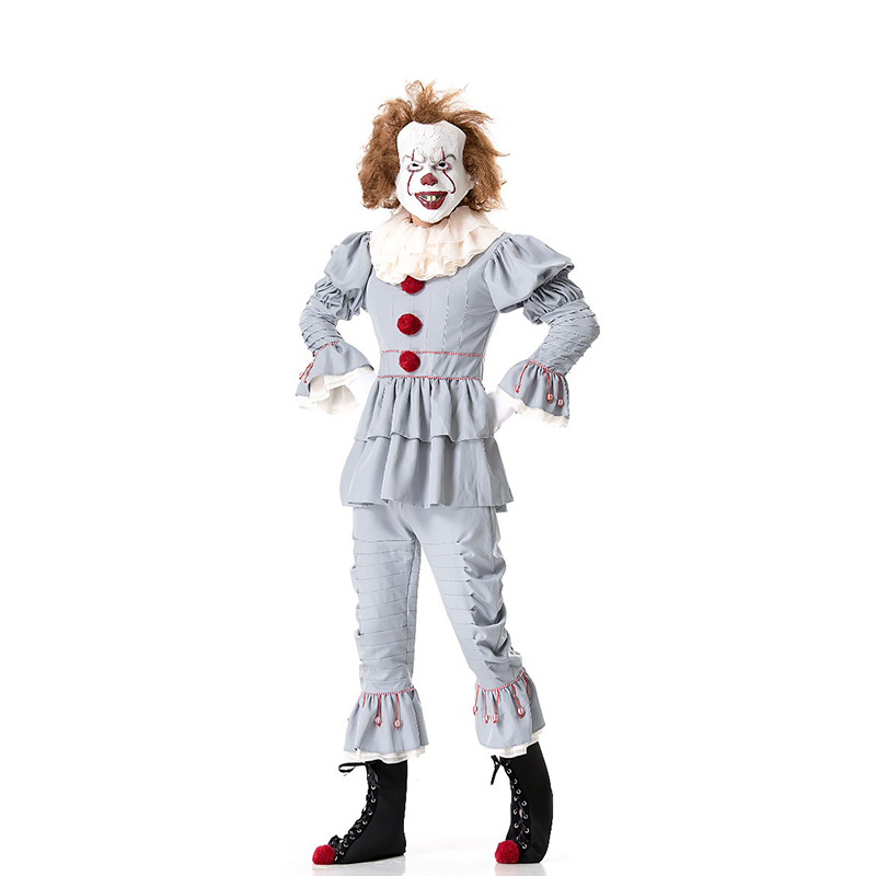 Costume de Clown Pennywise hommes adultes Stephen King's It Cosplays Halloween carnaval Fantasia déguisement tenue