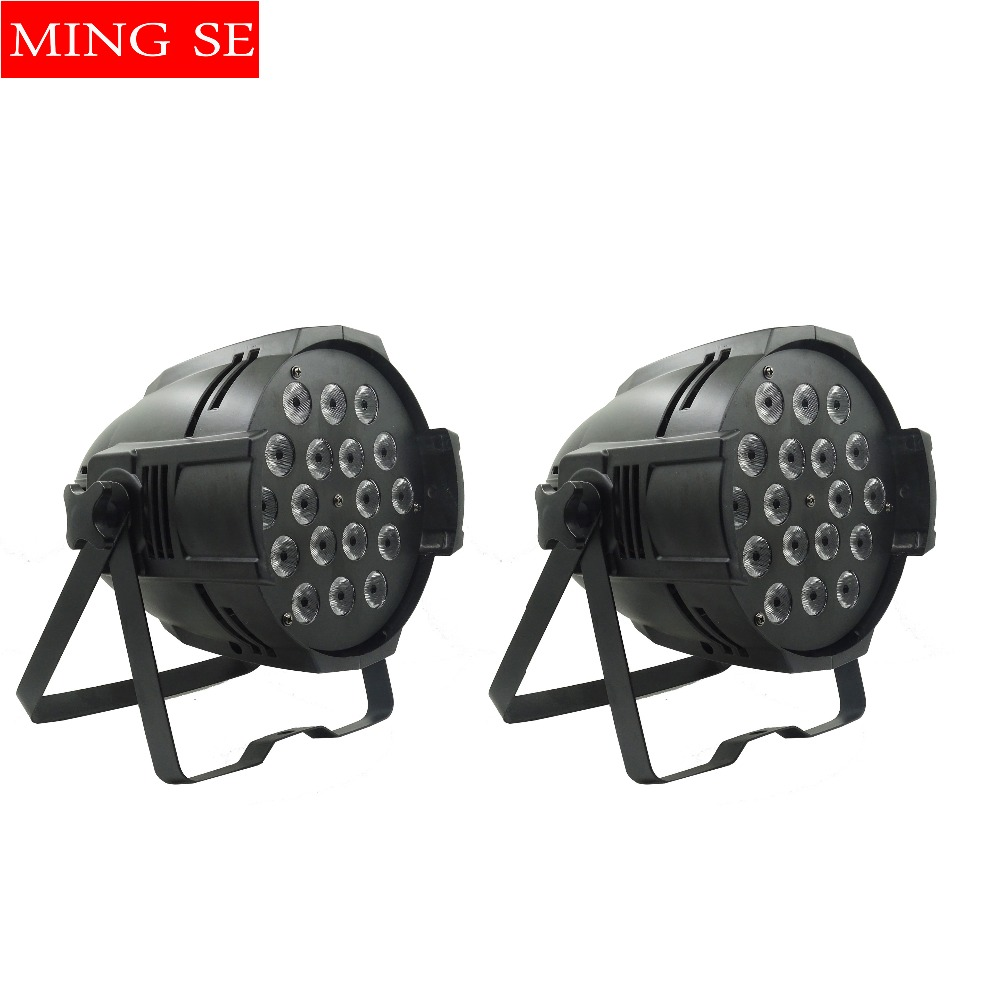 2pcs /lots 18x12w led Par lights RGBW 4in1led dmx512 disco lights professional stage dj equipment2pcs /lots 18x12w led Par lights RGBW 4in1led dmx512 disco lights professional stage dj equipment