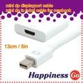 Brankbass mini dp de displayport a hdmi hembra tv cable adaptador para el macbook