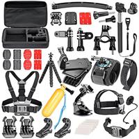 GloryStar 36 In 1 Sport Accessory Kit for GoPro Hero4 Session Hero3 3+ 4 5 6 7 SJ4000 5000 6000 7000 Xiaomi Yi in Outdoor Sports