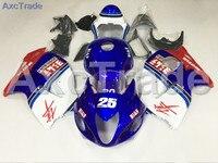 Kits de Carenagem da motocicleta Para Suzuki GSXR 1300 Hayabusa GSXR1300 1997-2007 97-07 ABS Injeção Fairing Carroçaria Kit Azul A744