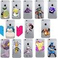 Покемоны идти Charizard Pikachue Snorlax супер мечта пэт шаблон телефон оболочки мягкого ТПУ Case для iPhone 7 5 5S SE 6 6 S 6/6 SPLUS D021