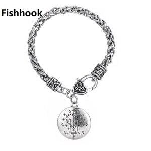Image 1 - Fishhook Dropshipping Ezili Freda Voodoo Loa Veveจี้Vodoun Lwa Love Talismanเครื่องประดับHoodoo Amuletสร้อยข้อมือแฟชั่น