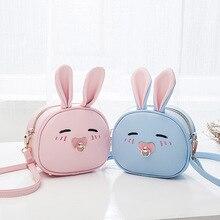 Children font b Bags b font Handbags Girls Cartoon Rabbit Shoulder font b Bag b font