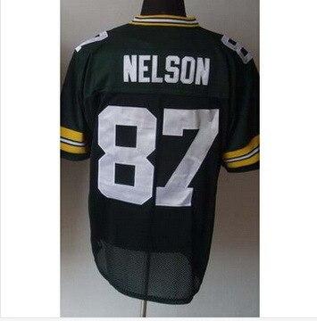 87 Jordy Nelson Jersey White 56e340542