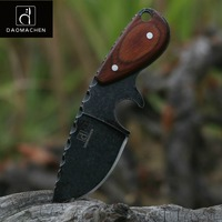 DAOMACHEN Tactical Hunting Knife Outdoors Camping Survive Knives Multi Diving Tool Stone Wash Blade Free Fast