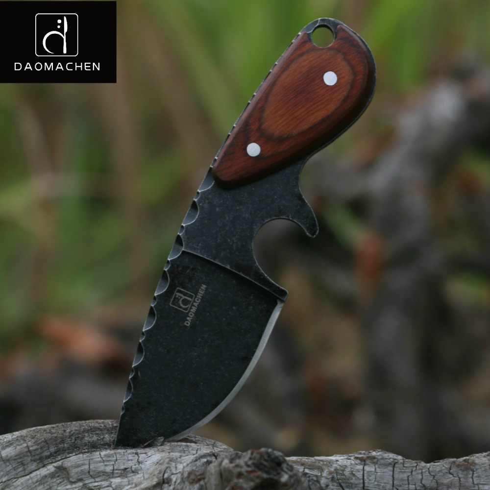 DAOMACHEN taktik av bıçağı açık havada kamp survive bıçaklar çok dalış aracı ve Taş yıkama bıçağı Ücretsiz hızlı kargo