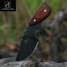 Тактический охотничий нож DAOMACHEN, ножи для кемпинга, выживания, многофункциональный инструмент для дайвинга и лезвие для мытья камня, Бесплатная быстрая доставка