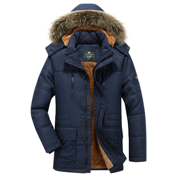 Brand AFS JEEP winter jacket for men High Quality Thicken Fleece Men Parka hombre Army Military Overcoat Plus Size 5XL 6XL 7XL