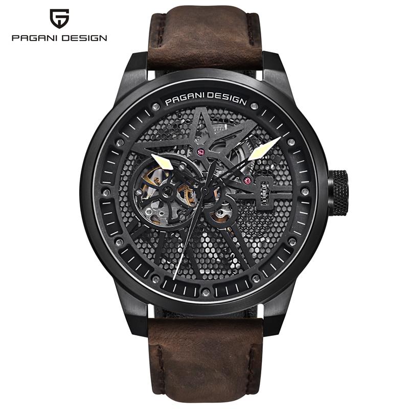 PAGANI DESIGN Luxury Brand Watch Mens Waterproof Army Military Automatic Mechanical Wrist Watch Clock Men Relogio Masculino Saat