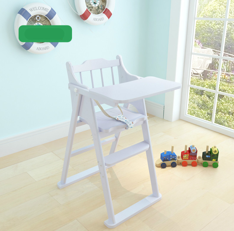 Baby High Chair Multifunctional Solid Wood Dining Table Seat Portable Folding Feeding C01 In Booster Seats From Mother Kids On
