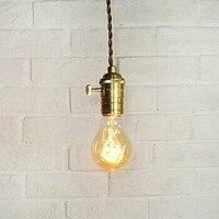 American Country Retro Loft Style Edison Bulb Industrial Pendant Light Lamp,Lampara Colgantes Hanglamp,Bulb Included