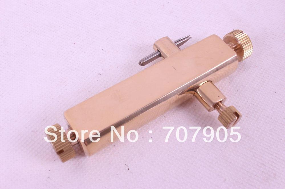 Инструмент для скрипки, инструменты для ремонта струнных инструментов, латунь Purfle разделочный нож# Q41