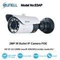 Sunell 1080 P HD IP IR Bala Câmera de 2MP PoE com 2.8-12mm Varifocal Lente Zoom e 10-IR LED até 25 M de Distância do IR P2P Onvif 2.4