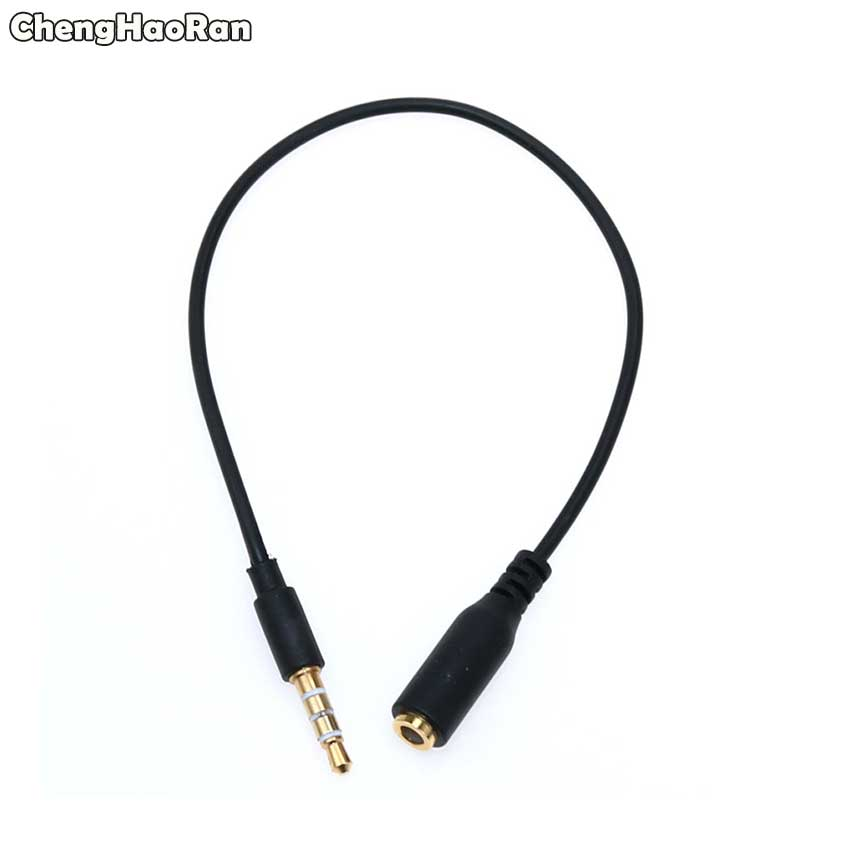 ChengHaoRan Audio Cable 3.5mm 4 pole Headphone Male to