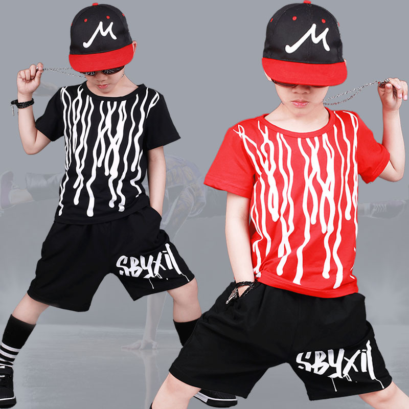 Kids Clothing Sets For Boys Sports Suits Cotton T-shirts & Shorts 2018 Summer Children Outfits 4 6 8 9 10 12years School Clothes
