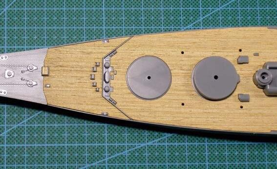 ChaRLes Pont En Bois Pour Tamiya 78030 1:350 /Échelle Japonaise Cuirsag/én Is/érable Accessoires De Remplacement Yamato