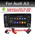 Android 5.1! Quad Core 7 Дюймов В Тире Dvd-плеер Автомобиля Для Audi A3 2002-2011 С Canbus Wi-Fi Gps-навигация BT Радио Свободная Карта