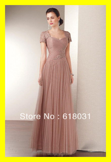 Mother Of The Bride Dresses Pee Elegant Dress Grandmother Plus Size Wedding Guest Built In