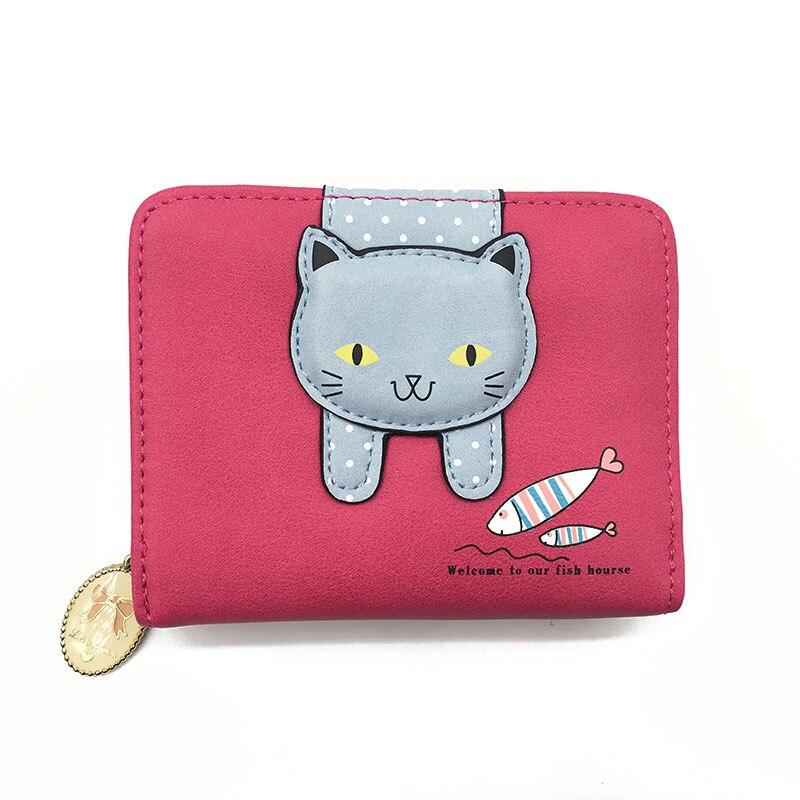 womens cat wallet