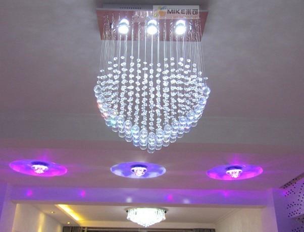 Kristall kombination kristall lampe moderne deckenleuchte