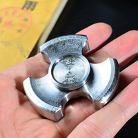 Laser Maya Pattern Stainless Steel Seiko Rotablade Metal Tri Hand Spinner Fidget Spinner Torqbar Brass HandSpinner