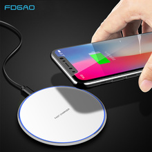 QI 15W Fast Wireless Charger For Samsung S10 S9 S8 Note 9 8 Smart phone Charging Pad for Huawei P30 Mate 20 pro iPhone X XS MAX phone camera lens 9 in 1 phone lens kit for iphone x xs max 8 7 plus samsung s10 s10e s9 s8