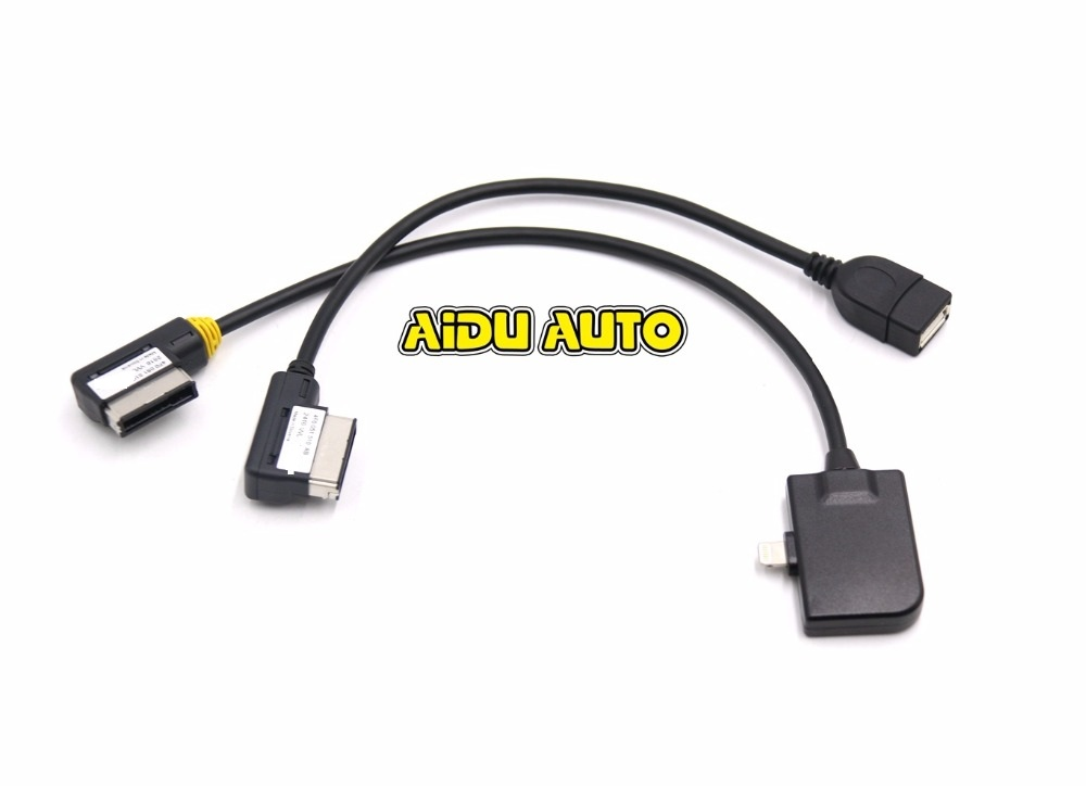 online get cheap audi ipod cable aliexpress com alibaba group oem ami mmi cable for iphone 5 5s 6 7 ipad ipod for audi a7 a8l a6l q5 q7