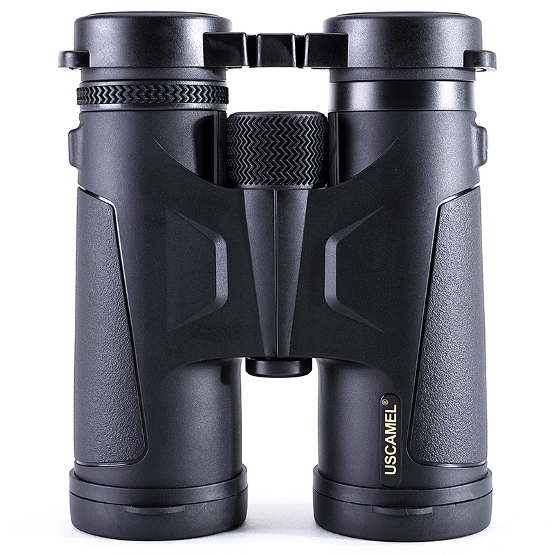где купить USCAMEL HD 10x42 Binoculars Compact Powerful Zoom Long Range Professional Waterproof Folding Telescope Outdoor Hunting по лучшей цене