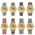 Colorido Cuerda Mujeres Nueva Moda Reloj de Cuarzo Reloj Pulsera tejida A Mano de DIY Nueva Venta Caliente