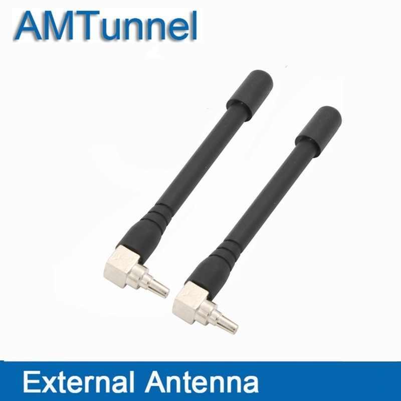 4G WiFi anten 3G 4G anten CRC9 yönlendirici anten 2 adet/grup için E3372 E3372h-607 EC315 EC8201 PCI kartı USB kablosuz yönlendirici