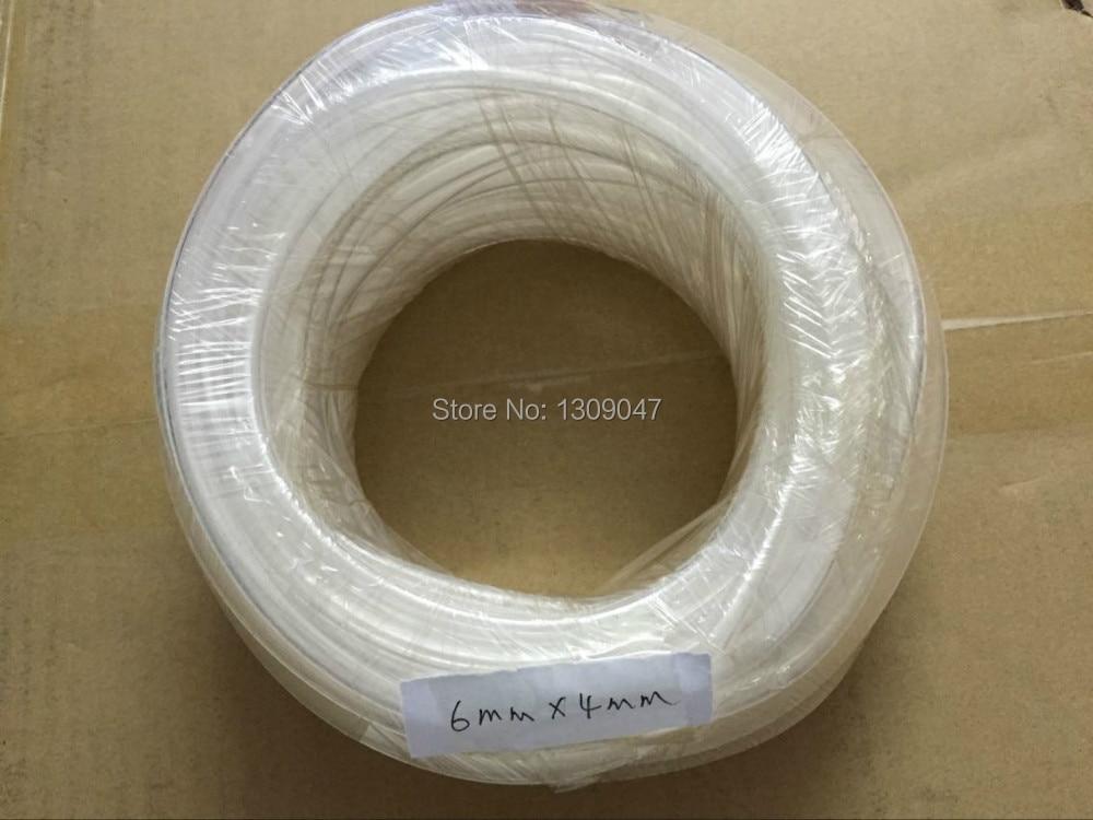 Free shipping 20meters 6mm*4mm printer tube printer ink tube solvent ink tube for solvent printer блуза fleur de vie 24 2191 рост 110 морская волна