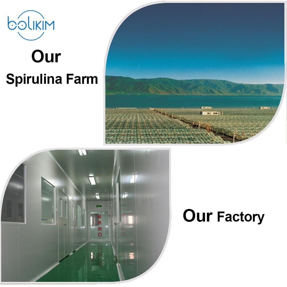 BOLIKIM Brand 4000pcs 250mgx200p Spirulina For PeopleBOLIKIM Brand 4000pcs 250mgx200p Spirulina For People