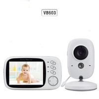 Baby Monitor VB603 Video 2.4G Wireless With 3.2 Inches LCD Surveillance Security Camera Babysitter 2 Way Audio Talk Night Vision