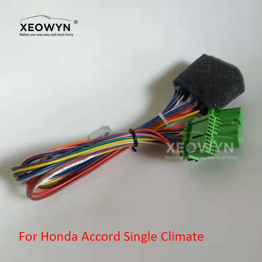 Dual Climate To Single Climate Adaptor For Honda Accord