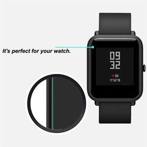 Image 4 - 10 Pcs Groothandel Originele Voor Xiaomi Huami Amazfit Bip Screen Protectors Ultra Dunne Beschermende Film Full Hd Tpu Smart horloge