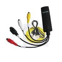 2pcs New High Quality USB 2 0 Easycap Capture 4 Channel Video TV DVD VHS Audio
