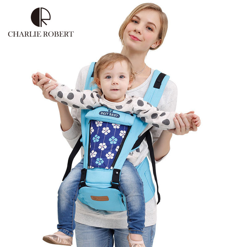 Designer Baby Carrier Sling Hipseat Canguru Wrap Backpack Breathable Infant 360 Four Position Toddler HK902
