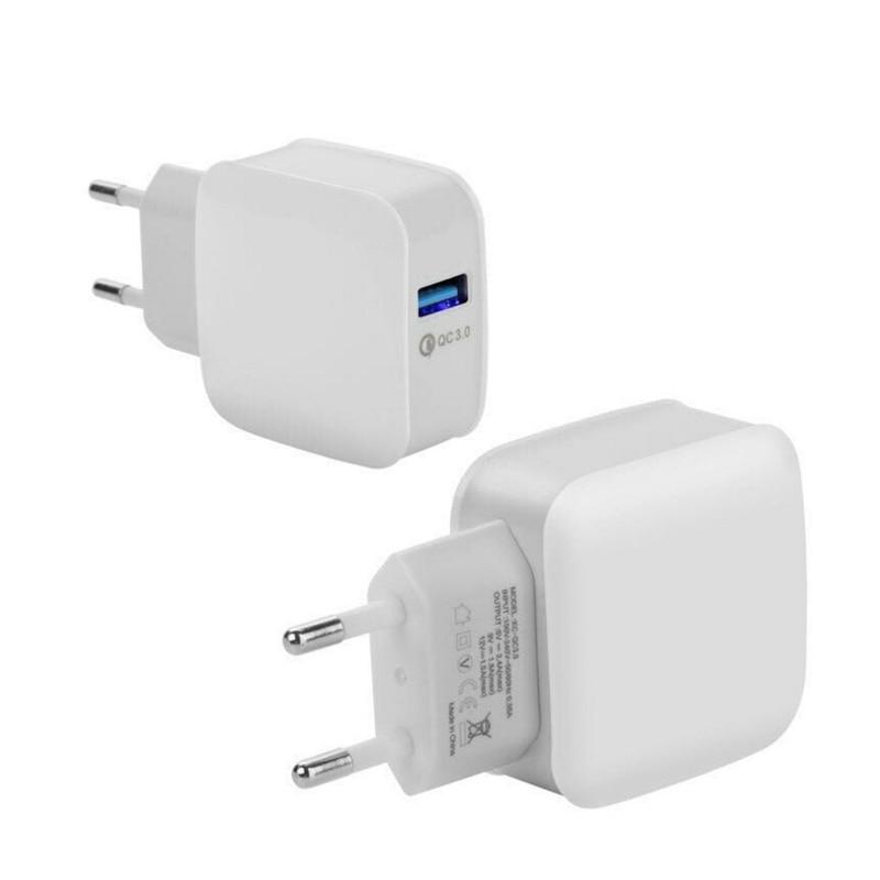 5V 3A Travel Wall Charger Quick Charge 3.0 Adaptador de cargador USB - Accesorios y repuestos para celulares - foto 3