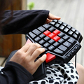 Colorful T9 Professional Gaming Keyboard With One Hand LOL LED Backlit Keypad Gaming Keyboard LED Backlit Keypad