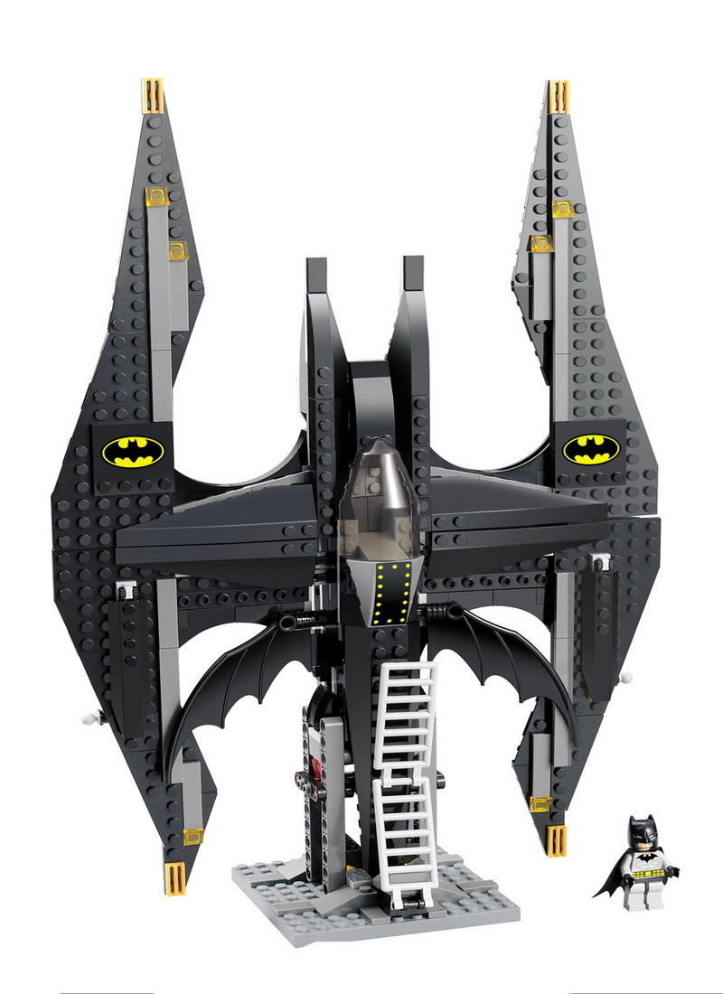 Decool Building Blocks 7112 Super Heroes Figures The Tumbler Batman Fighter Compatible with 7782 Educational Toy for Children