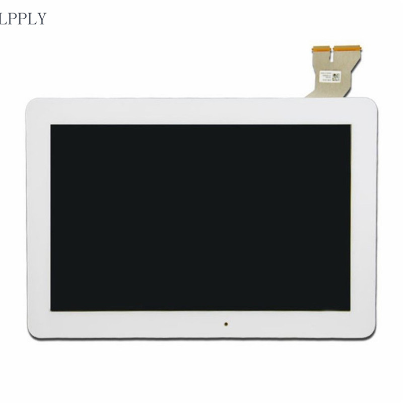 LPPLY 10.1 INCH White For Asus Transformer Pad TF103 TF103C TF0310CG TOUCH SCREEN+LCD DISPLAY Assembly FREE SHIPPING 10 1 inch tablet for asus transformer pad tf103c tf103 lcd screen display free shipping